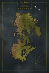 Ithyn Islands Campaign Map by Czepeku