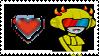 Mituna Captor Stamp by crazycatniplady