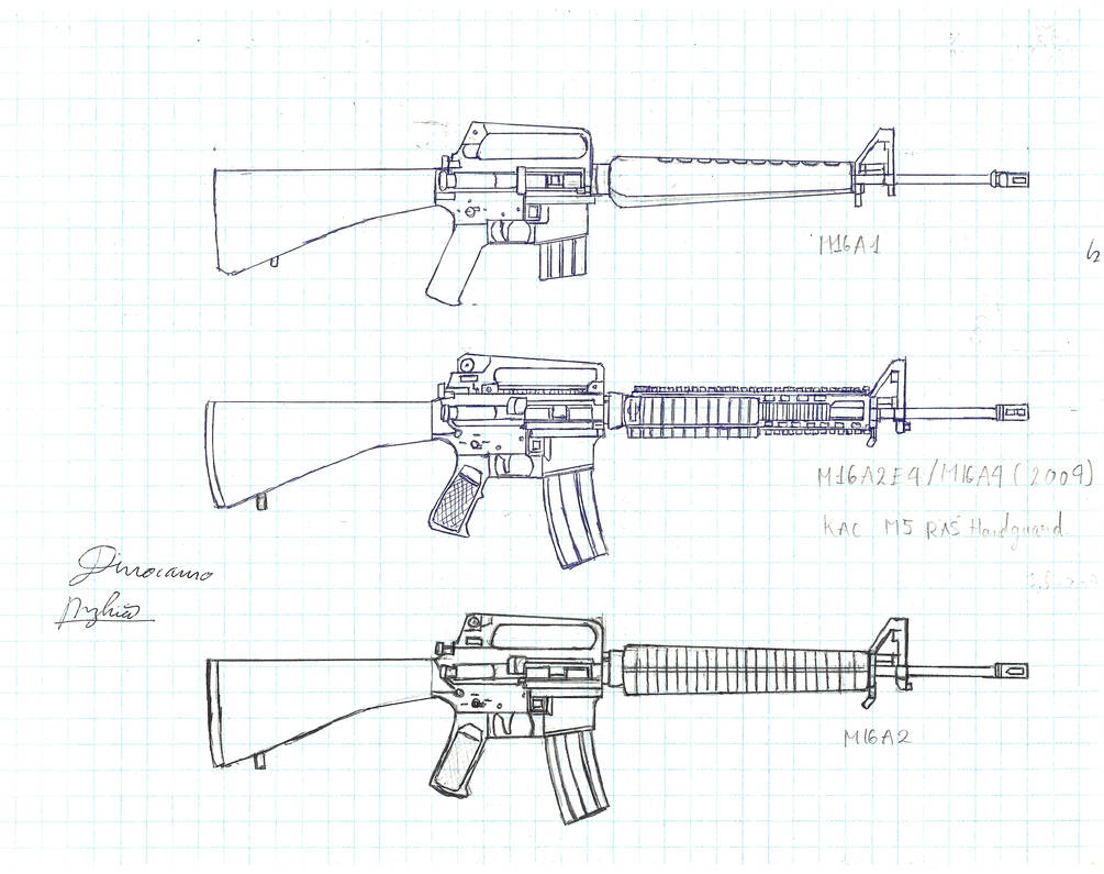 M16 series by 21597 on DeviantArt on