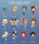 Greek Zodiac Chibis