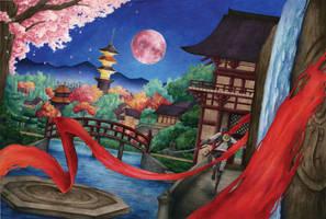 Commission: Shinobi by TirraMisu