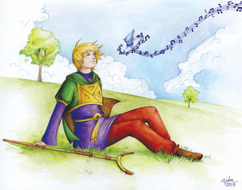 CM: Ivan from Golden Sun by TirraMisu