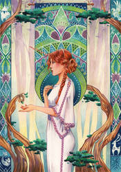 Insight | Druid's Peace by TirraMisu