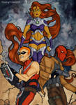 Young Justice - Red Hood and the Outlaws