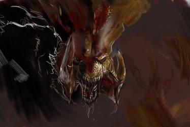 Hydralisk fan art for BJ 2014 by EsBest