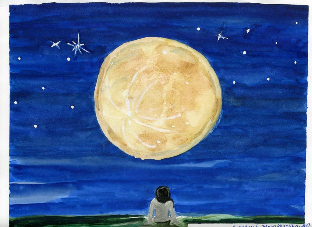 Super Moon August 2014 by EsBest