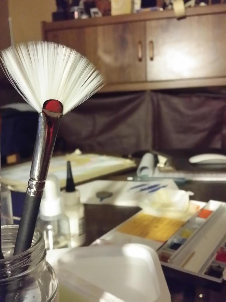 Fan Brush by EsBest