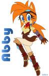 POINTCOM: Abby The Hedgehog C: