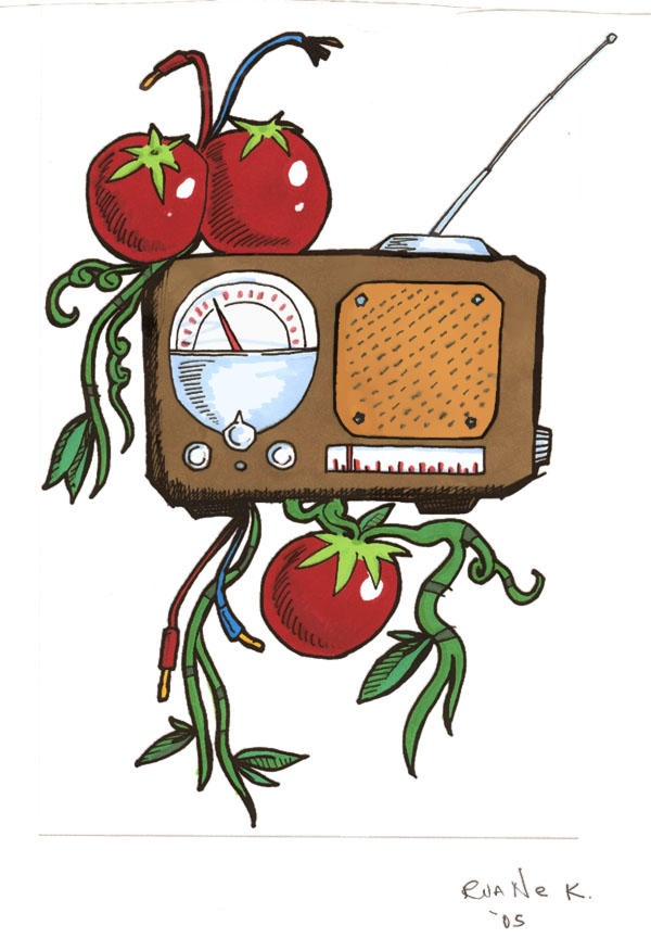 tomatoes and radio wire by roop on DeviantArt