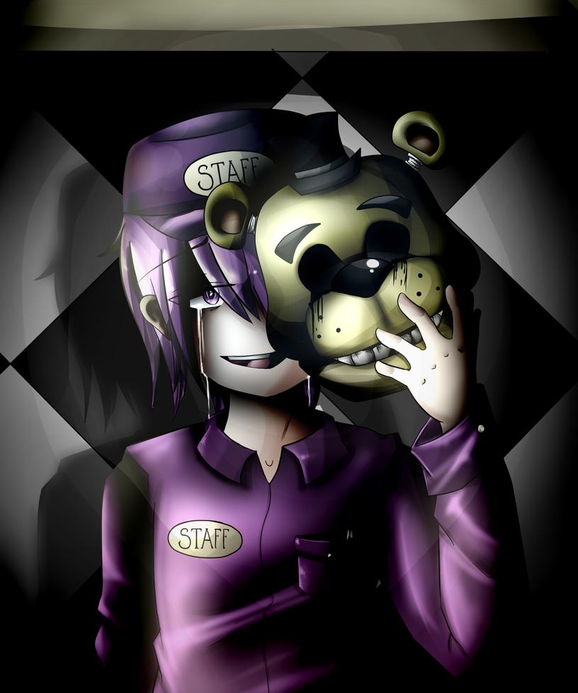 Purple guy fnaf xxx erotic image