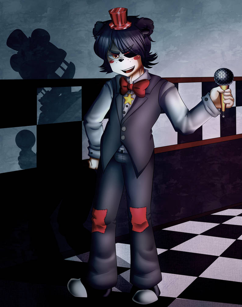 Human Lefty (FNAF 6) + Speedpaint by Any1995 on DeviantArt
