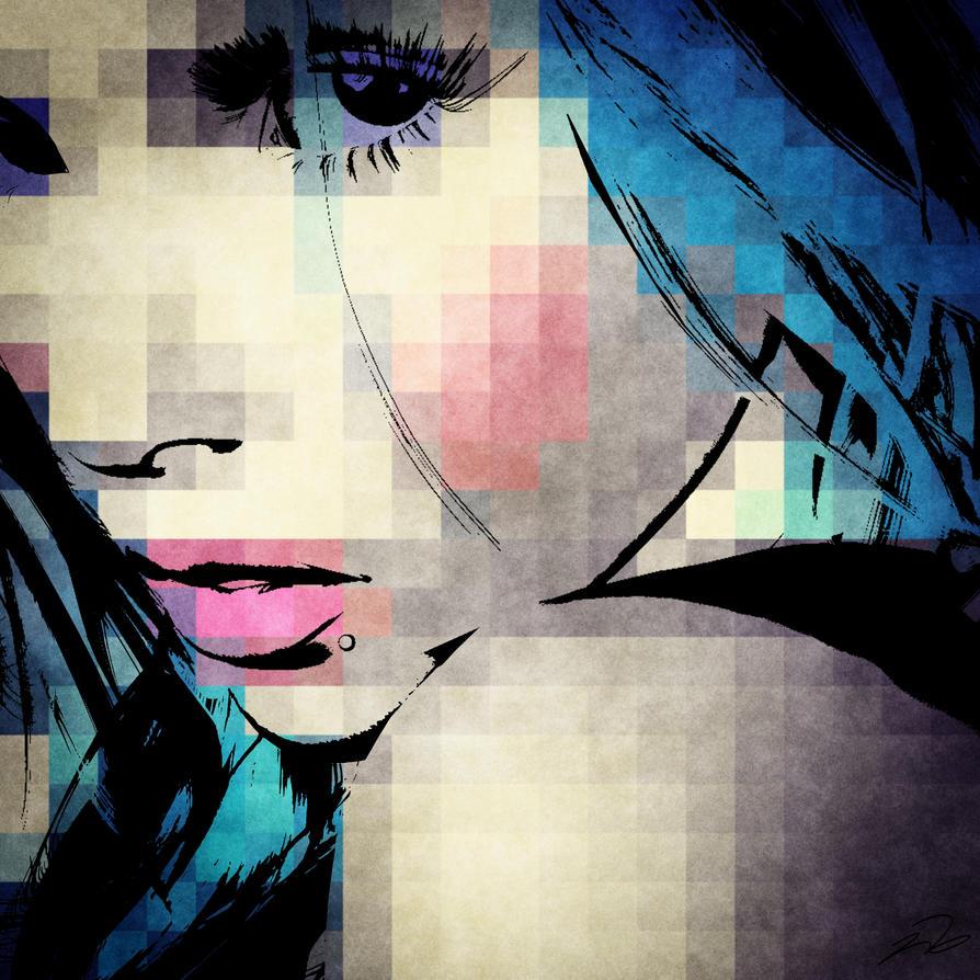 blue_girl by mc12sideddie