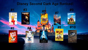 Disney Second Dark Age Ranked