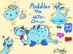 DRAGON #3: Puddles the Water Dragon