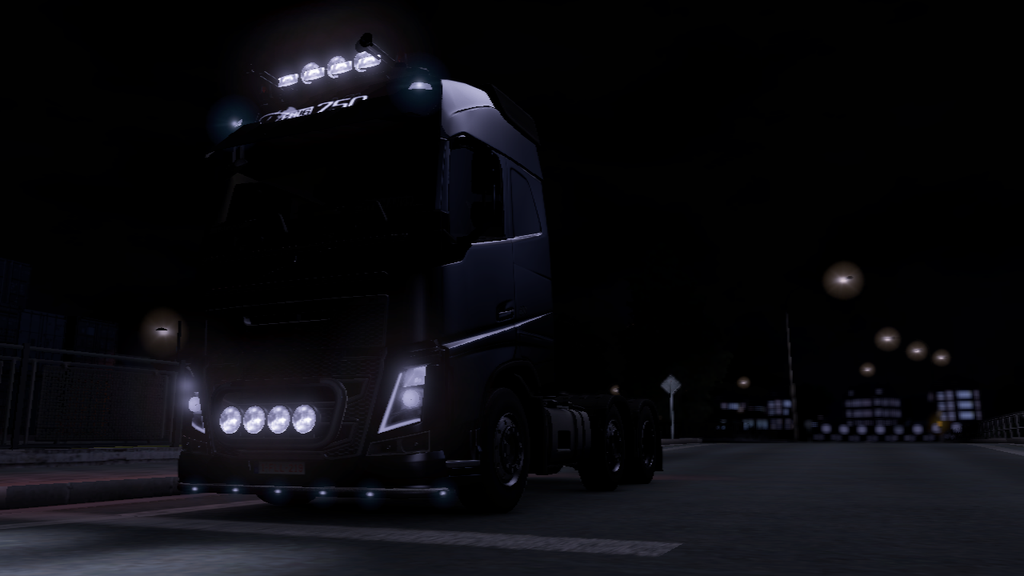 ETS2 Volvo FH Wallpaper By Capain Caveman99