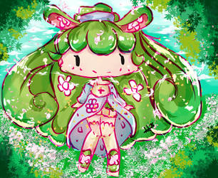 PLANT GIRL!!! by Hiroki-Ajame