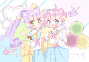 collab candy by Hiroki-Ajame