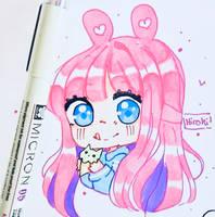 buniny ice-cream by Hiroki-Ajame