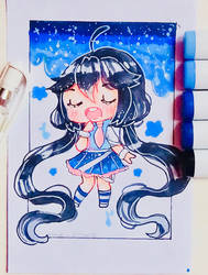 sing with me. by Hiroki-Ajame