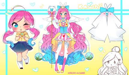 Collab ADOTP - OPEN - magical bunny girl by Hiroki-Ajame