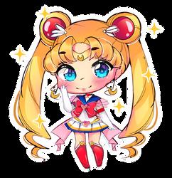 Sailor moon - FAN ART. by Hiroki-Ajame