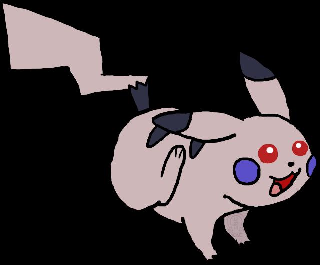 Layria the Shadow Pikachu by AnScathMarcach