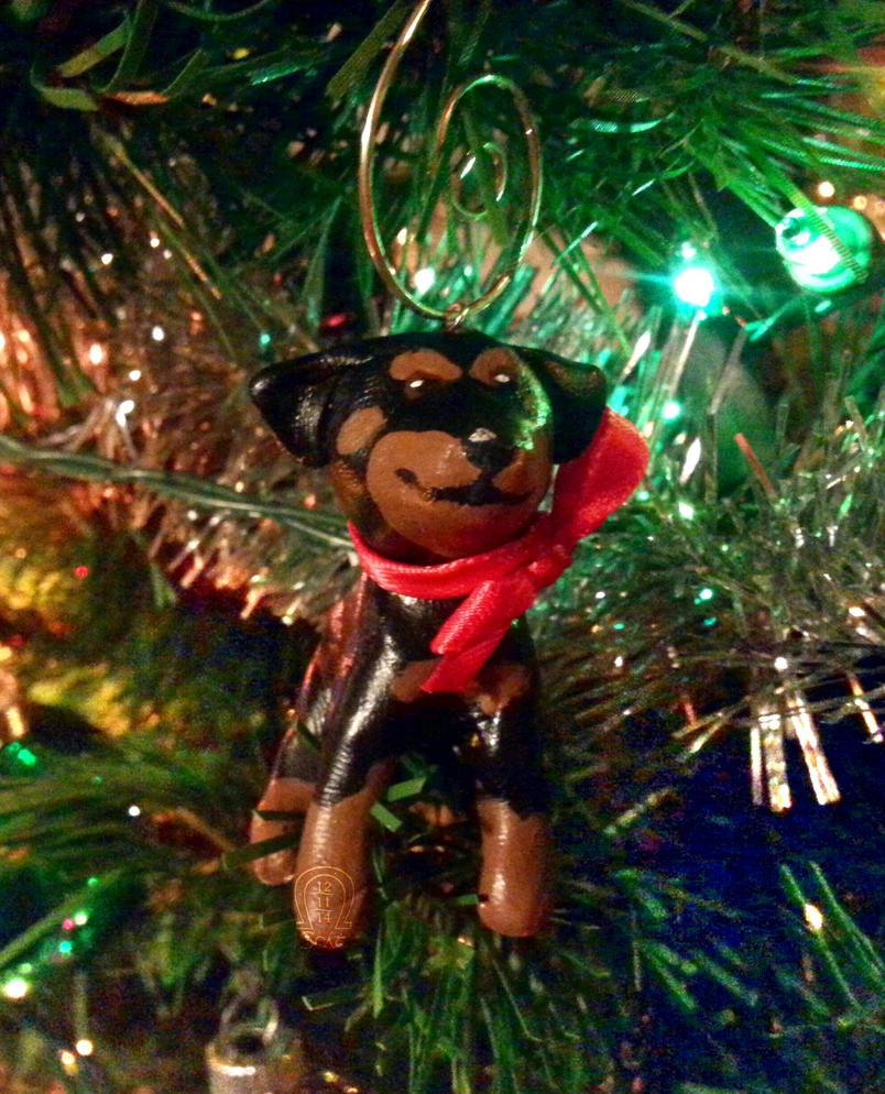 Dog Ornament by AnScathMarcach