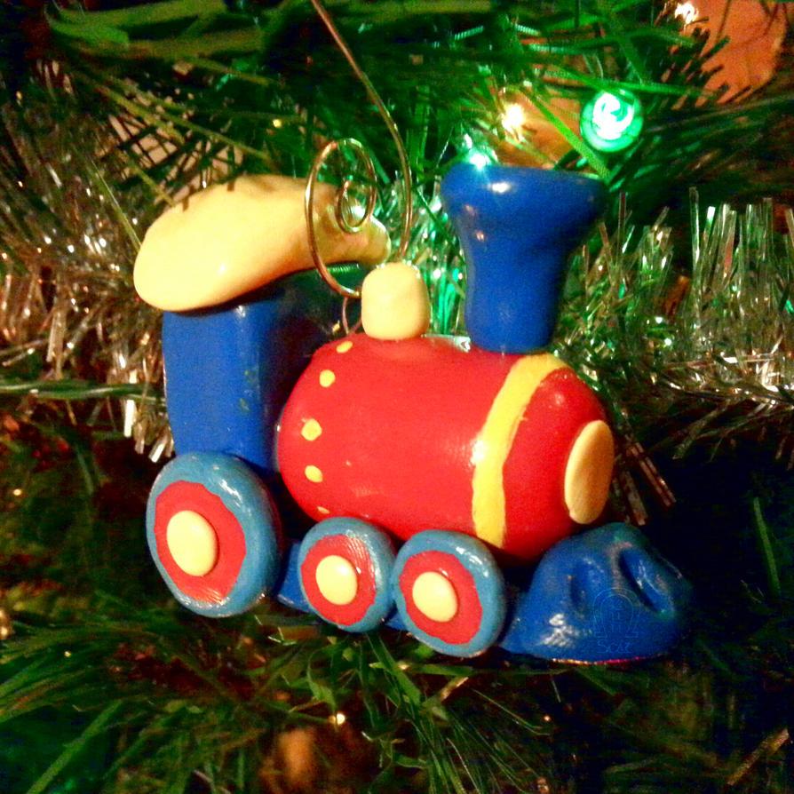 Train Ornament by AnScathMarcach