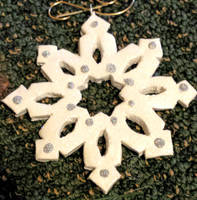 Snowflake Ornament by AnScathMarcach