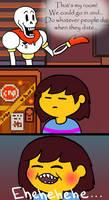Undertale Comic: Dirty Mind by AnScathMarcach