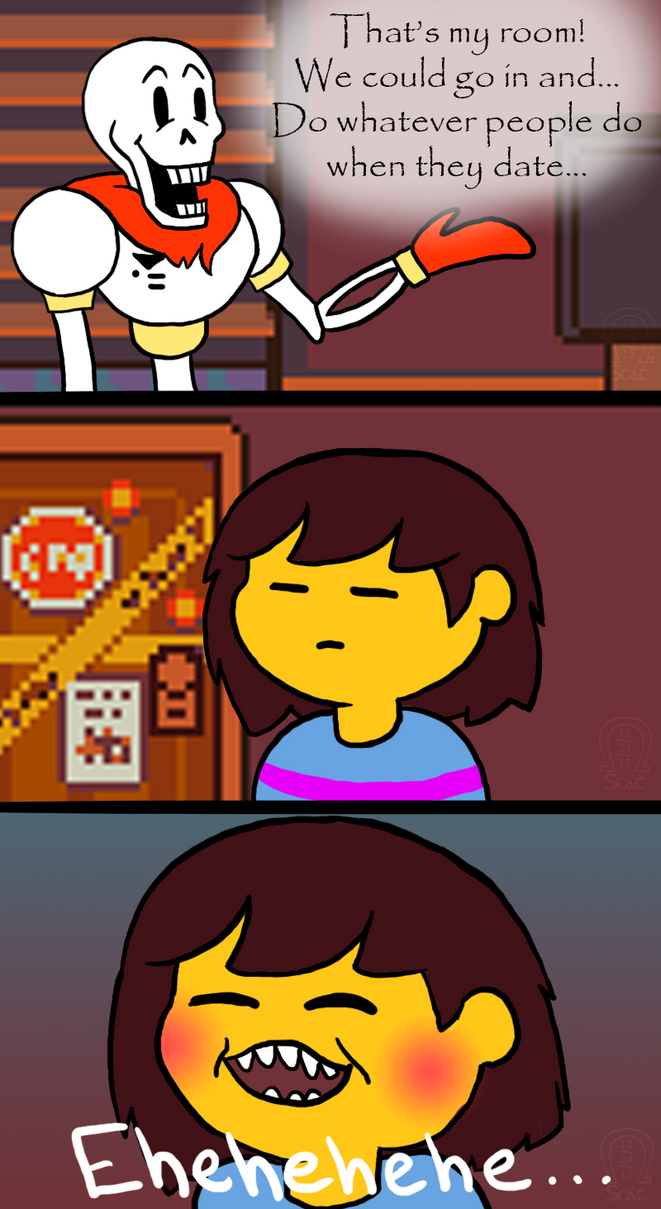 Undertale Comic Dirty Mind By Anscathmarcach On Deviantart