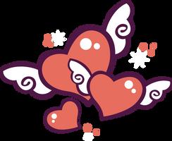 Heart Throb Custom G3 Cutie Mark by AnScathMarcach