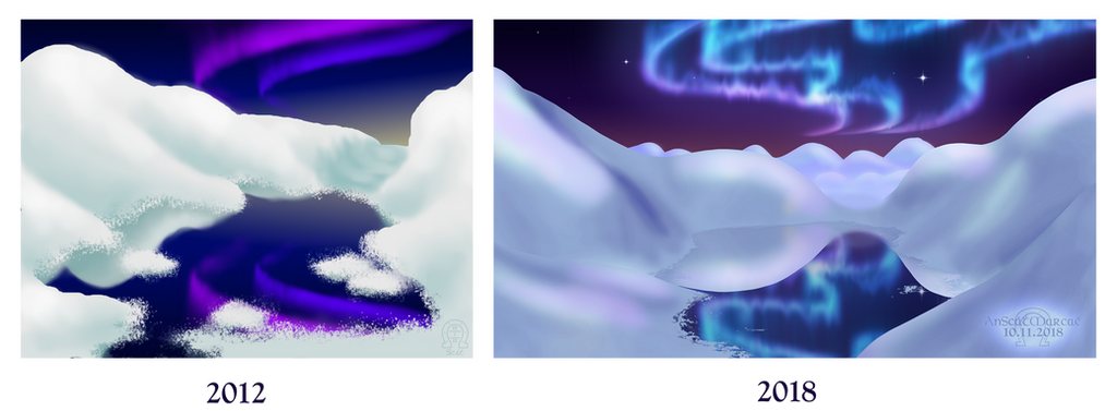 Draw This Again - 'Arctic Dream' by AnScathMarcach
