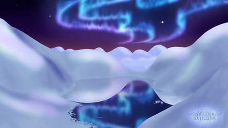 Arctic Dream - 2018 Redraw by AnScathMarcach