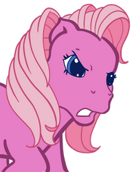Angry G3 Pinkie Vector by AnScathMarcach