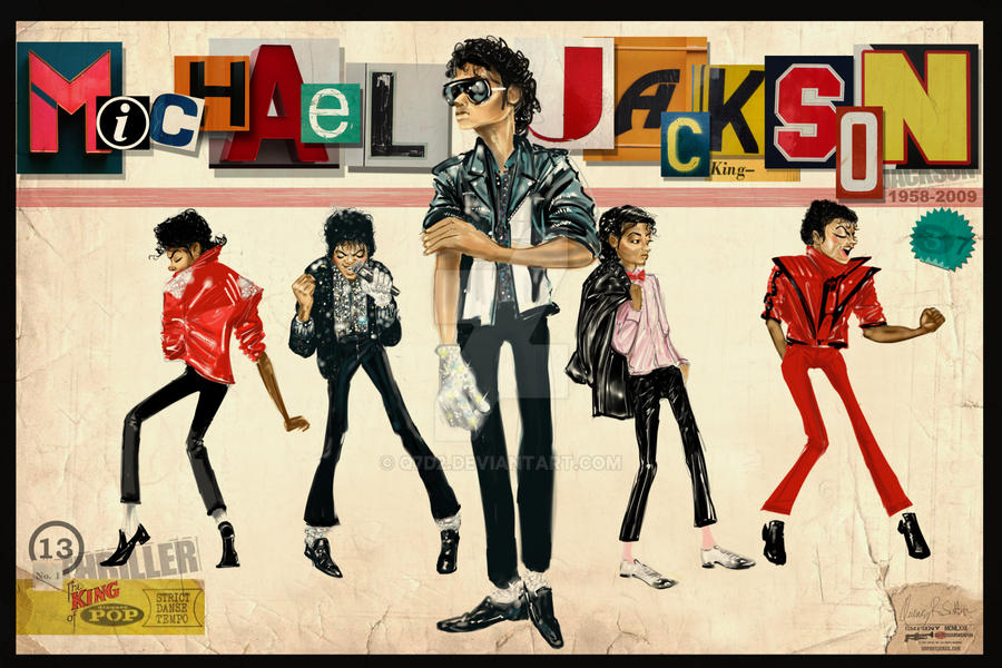 Michael Jackson Thriller by Q7D2