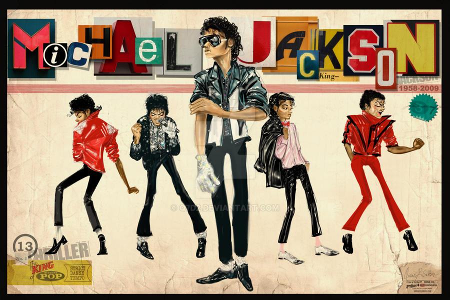 Michael Jackson Thriller by Q7D2