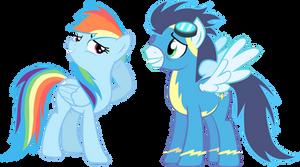 Rainbow and Soarin