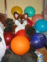 Kenny With Balloons 3 by KennyKitsune
