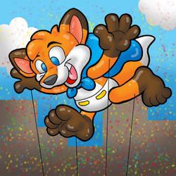 Macy's Parade Balloon - SketchDalmatian
