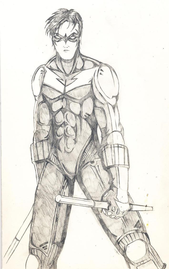 Nightwing Drawing Nightwing