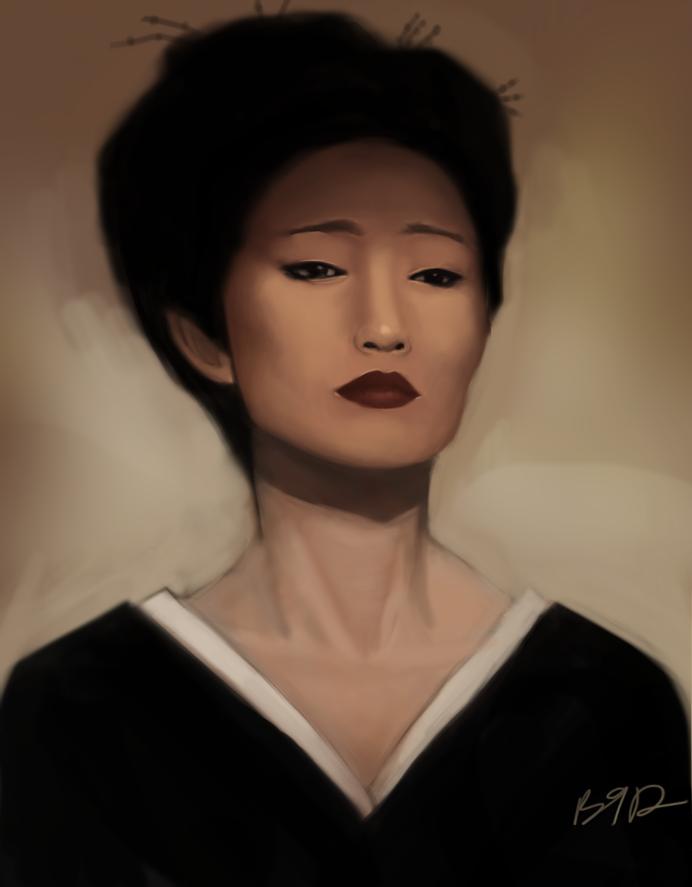 Hatsumomo By Burnished9 On Deviantart