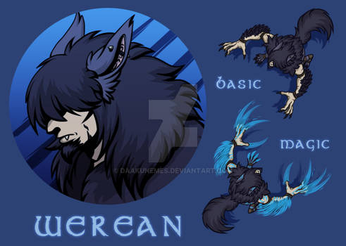 [P] RP character : Werean icon and tokens