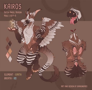 KAIROS (Mochapi design) Reference Sheet