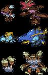 XY Water mons