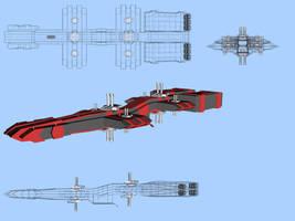 Javelin Blueprint by Headdie