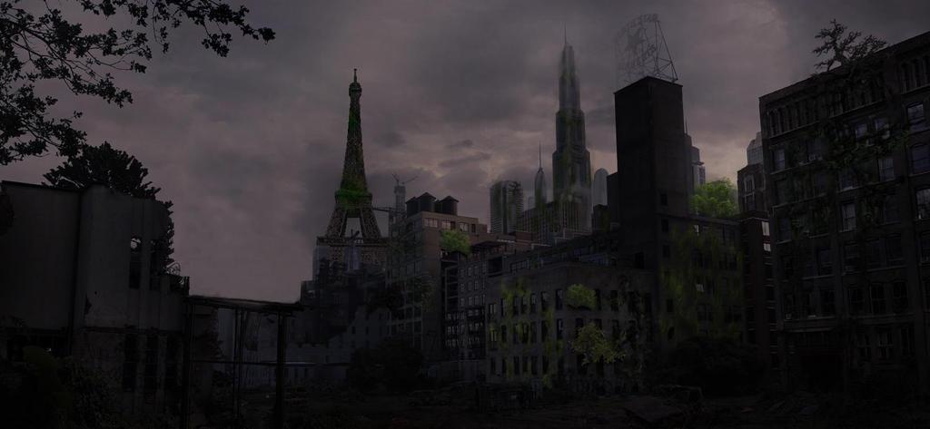 Surrealism - Eiffel Tower