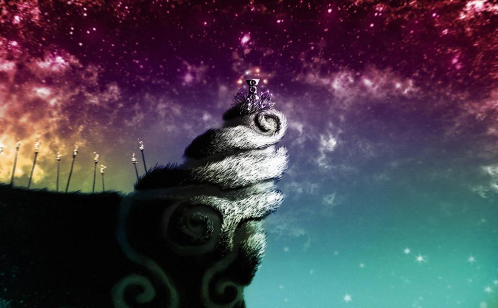 Rayman 2 - Polokus Landscape by ZombiRam