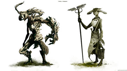 Onidria - Inhabitants