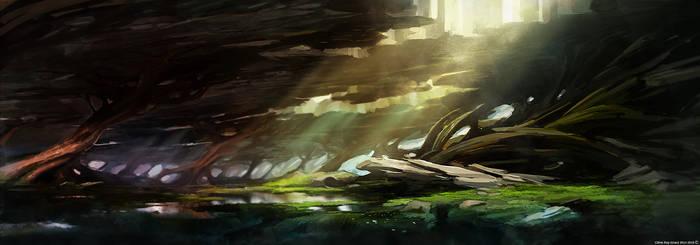 Onidria - Landscape - Under the ground